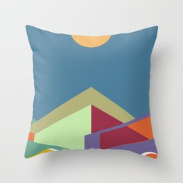 Living in the City Serie - Equilibrium Throw Pillow