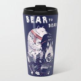 Bear In Winter Season Travel Mug