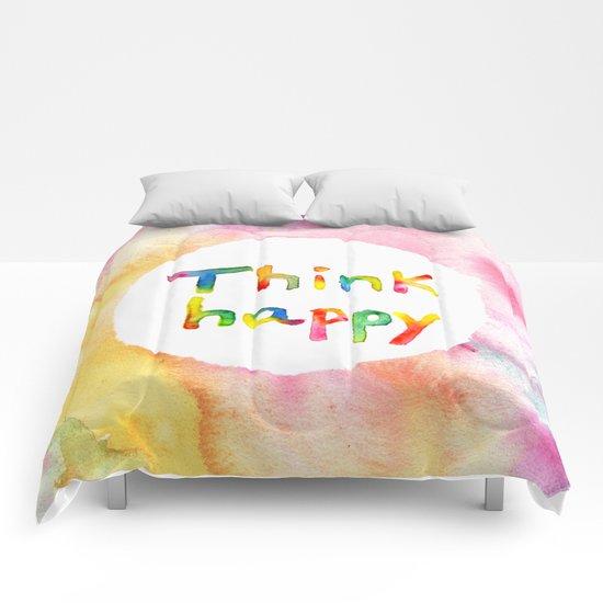 Think Happy Comforters