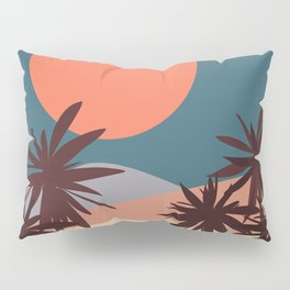 Abstract Landscape 13 Portrait Pillow Sham