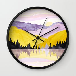 Spring Lake Wall Clock