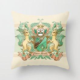 Fidem Herba Throw Pillow