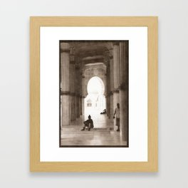 Mosque 2 Framed Art Print