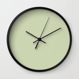 Plain Solid Color Seafoam Green Wall Clock