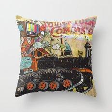 Never Again Tomorrow Express Throw Pillow