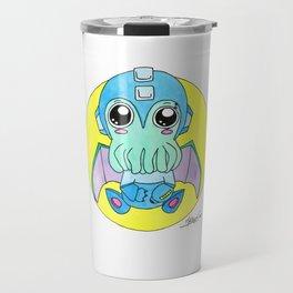 Megaman Cute-thulu Travel Mug