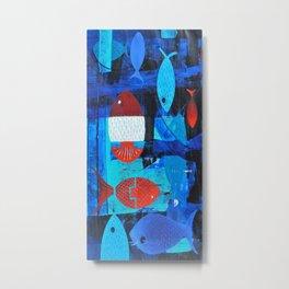 Anchor fish Metal Print