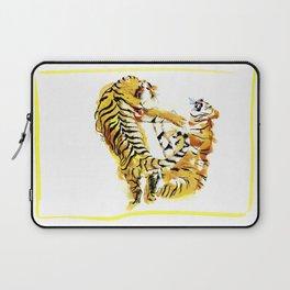 Tiger Fight Laptop Sleeve