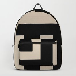 Black and Tan Backpack