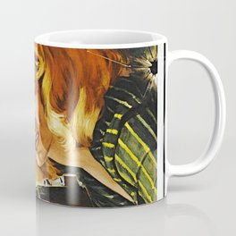 Cigar Smoking Hellcat of the Roaring Thirties Coffee Mug