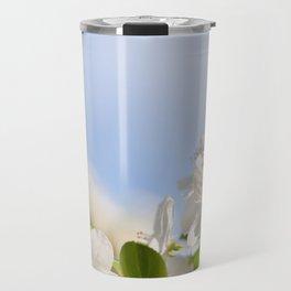 Flowering Cerasus cherry tree Travel Mug