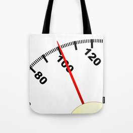 100 Pounds Tote Bag