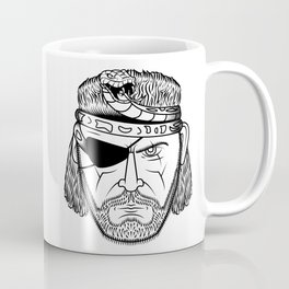 Portrait of a Snake Coffee Mug