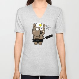 CoCo's Clumsy Unisex V-Neck