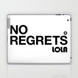 No Regrets Laptop & iPad Skin