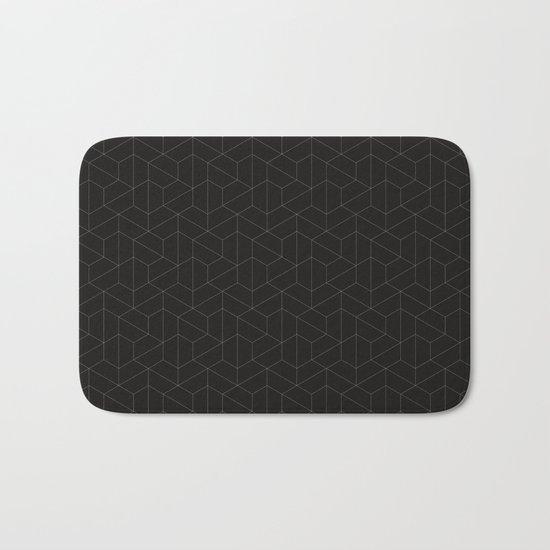 Hexagonal  Bath Mat
