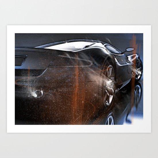 Dream Car Collection Art Print