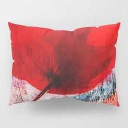 Red Poppy 157 Pillow Sham