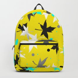 Forever Autumn Leaves Ochre 3 Backpack