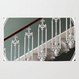 Stairway to Heaven - geometric circle Rug