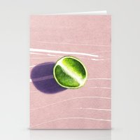 fruit Stationery Cards featuring fruit 10 by LEEMO