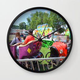 Jalopy Junction Wall Clock