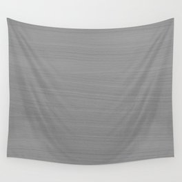 Soft Light Grey Brushstroke Texture Wall Tapestry