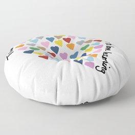 Hearts Heart Teacher Floor Pillow
