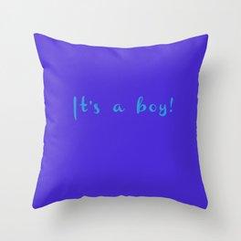 Boy Throw Pillow