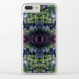 Pleasure of the Pathless Woods collage Clear iPhone Case