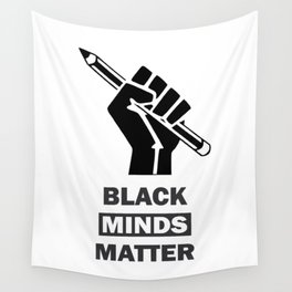 Black Minds Matter Wall Tapestry