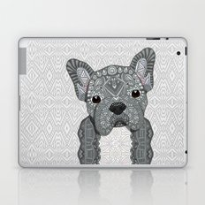 Gray Frenchie 001 Laptop & iPad Skin
