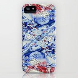 Digital Floral iPhone Case