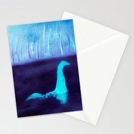 Night Vision Nessie Stationery Cards