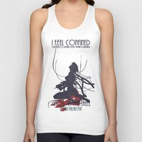 ghost in the shell Tank Tops featuring Ghost in the Shell by [SilenceCorp.]