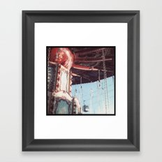 The State Fair Swing (An Instagram Series) Framed Art Print