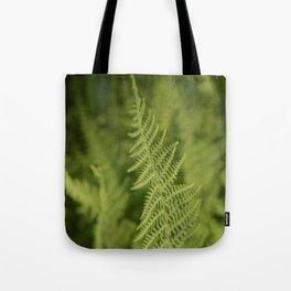 Jane's Garden - Fern Fronds Tote Bag