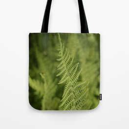 Jane's Garden - Fern Fronds Tote Bag
