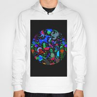 party Hoodies featuring Party! by Judy Kaufmann