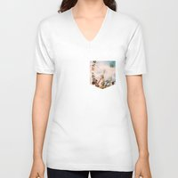 coachella V-neck T-shirts featuring Coachella by Tosha Lobsinger is my Photographer