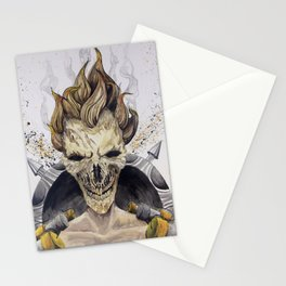 Junkrat Skull Stationery Cards
