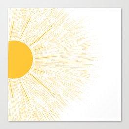 You're My SunShine Canvas Print