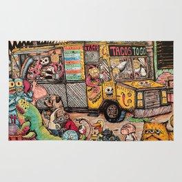 Taco Truck Rug