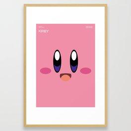 Poster Nintendo Kirby Framed Art Print