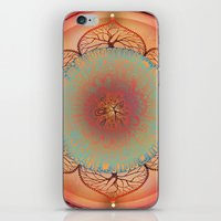 chakra iPhone & iPod Skins featuring Sacral Chakra by brenda erickson