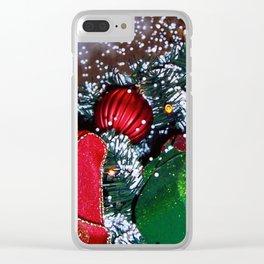 Let it Snow DPGF121225h Clear iPhone Case