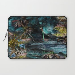 blue wood and moss Laptop Sleeve