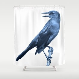 In the middle of nowhere: now, here Shower Curtain