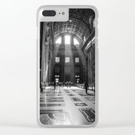 Basilica San Pietro, Roma Clear iPhone Case