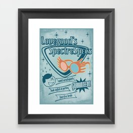 SpectreSpecs Framed Art Print